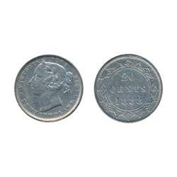 1881. ICCS Very Fine-20. 1885. ICCS Fine-15. 1888. ICCS Very Fine-20. Lot of three (3) coins.