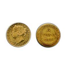 1881. ICG graded AU-55. Golden luster.