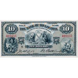 THE BANK OF NOVA SCOTIA. $10.00. Jan. 2, 1935. CH-550-36-04. No. 469455. Signed McLeod-Patterson. BC
