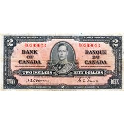 BANK OF CANADA. $2.00. BC-22a. Osborne-Towers. No. B/B0399023. PCGS graded Fine-15.