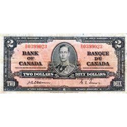 BANK OF CANADA. $2.00. BC-22a. Osborne-Towers. No. B/B0399023. PCGS graded Fine-15.