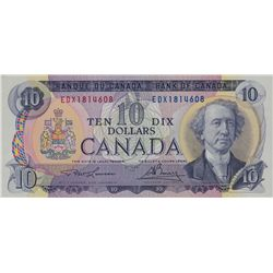 BANK OF CANADA. $10.00. 1971 Issue. BC-49cA-i. Lawson- Bouey. EDX1814608. PMG super Gem Unc-67. EPQ.