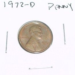 1972-D Lincoln Cent Penny *PLEASE LOOK AT PICTURE TO