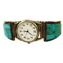 Zuni Inlay Watchband
