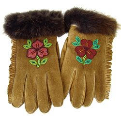 Cree Beaded Gloves