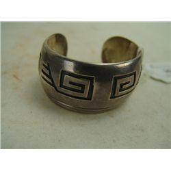 Hopi Silver Cuff