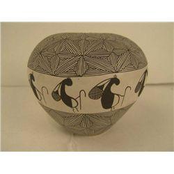 Acoma Pottery - V. Ortiz