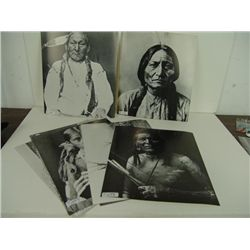 8 Photographic Indian Prints