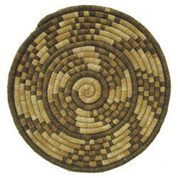 Hopi Basketry Plaque