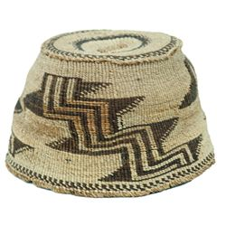 Klamath Basketry Hat