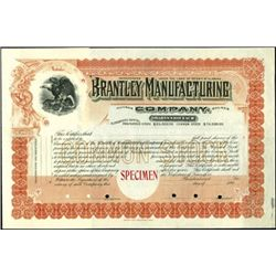 Alabama Group of Stock Certificates,
