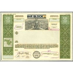 H&R Block, Inc. Unique Production File with Model