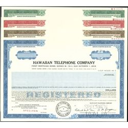 Hawaiian Telephone Company Bond Specimen (9)