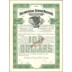 The Imperial Sewing Machine Company Bond,