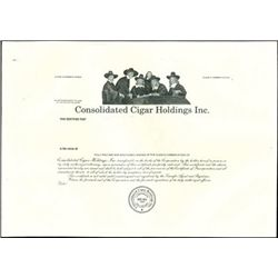 Mixed Cigar Proof Stock Certificates