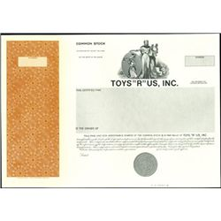 Mixed Toy Company Stock Proofs (4),