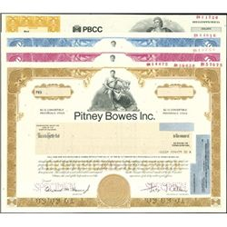 Pitney Bowes Inc. Certificate Group,