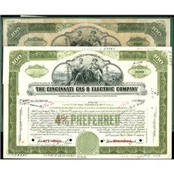 The Cincinnati Gas & Electric Company Production F