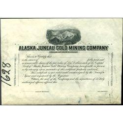 Alaska Juneau Gold Mining Co. Proo,
