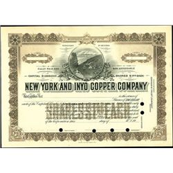 New York and Inyo Copper Co.,