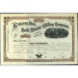 The Atlanta Hill Mining and Milling Co.,