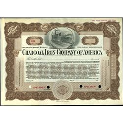 Charcoal Iron Company of America Stock Specimens