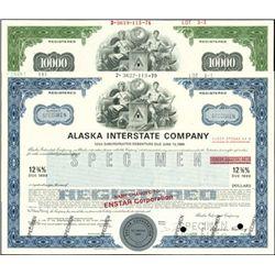 Alaska Interstate Co. Bonds,