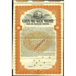 City of Key West Bond,