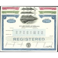 City and County of Honolulu Registered Bonds Grou