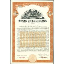 Louisiana State Bond Group,