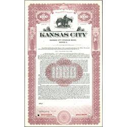 Kansas City Bond Specimens (12),