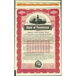 State of Tennessee Bonds,