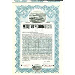 City of Galveston Bond group