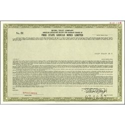 South African Mining ADR's Stock Certificates