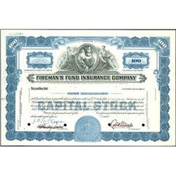 Fireman's Fund Insurance Co.,