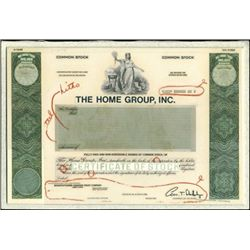 The Home Group, Inc. Production File with Proofs