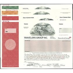 Travelers Group and Travelers Certificates,