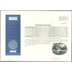 ACNielson Corporation Stock Proof,