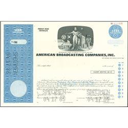American Broadcasting Companies, Inc. Stock (4),