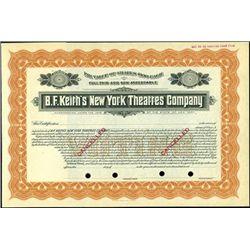 B.F. Keith's New York Theatres Company,