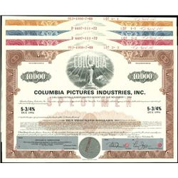 Columbia Pictures Industries, Inc. Registered Bon
