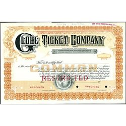 Globe Ticket Company,