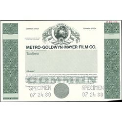 Metro-Goldwyn-Mayer Film Co. and MGM/UA Entertain