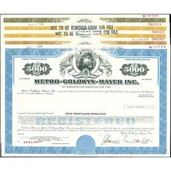 Metro-Goldwyn-Mayer Inc. Bond Group