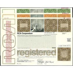 RCA Corporation Bond Proofs and Specimen