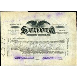 Sonora Phonograph Company, Inc. Proof.