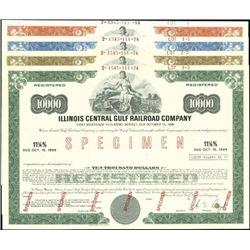 Illinois Central Gulf Railroad Co. Registered Bon