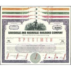 Louisville and Nashville Railroad Co. Registered