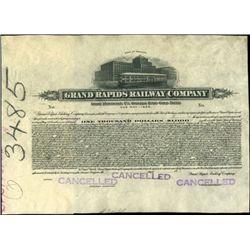 Grand Rapids Railway Co. Proof Bond,