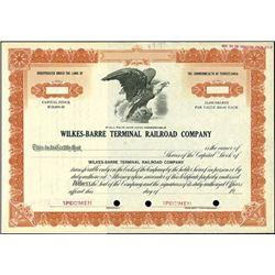 Wilkes-Barre Terminal Railroad Company.